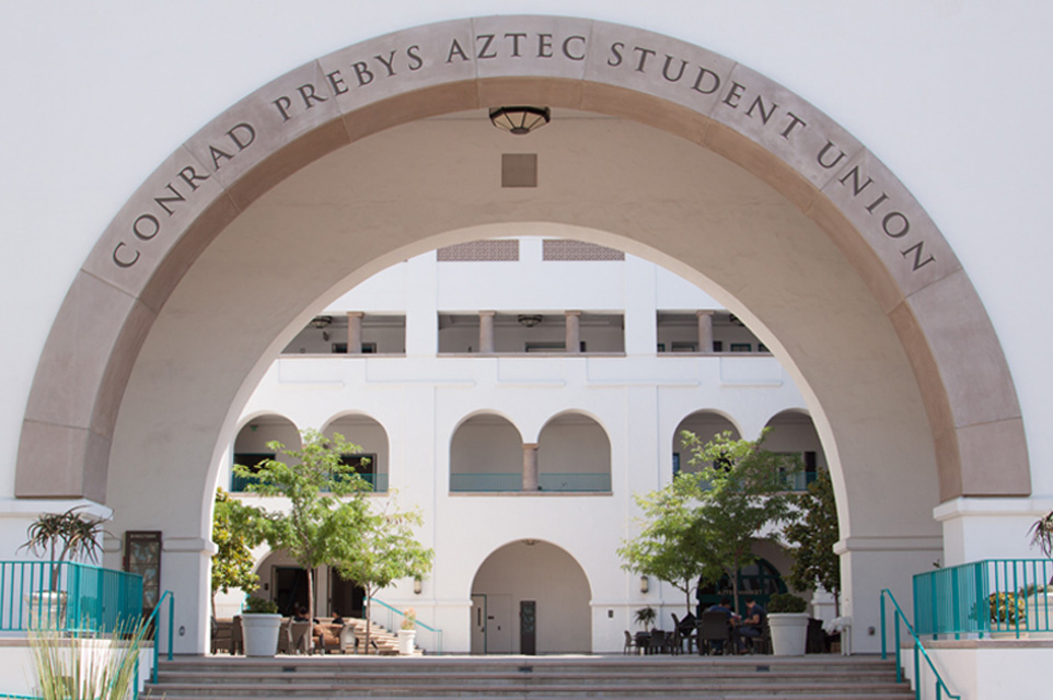 Aztec Student Union: North Grand Entry